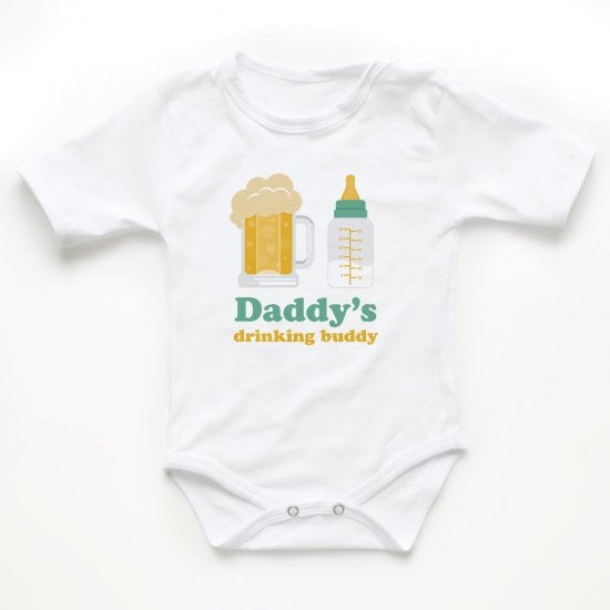 Body Bebelusi Daddy's drinking buddy