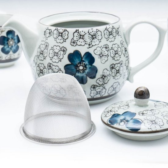 Ceainic cu infuzor cu flori Matilda