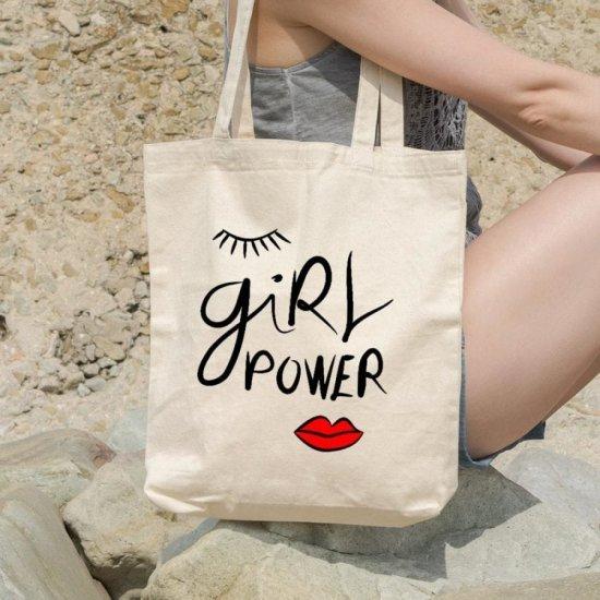 Sacosa Personalizata Girl Power