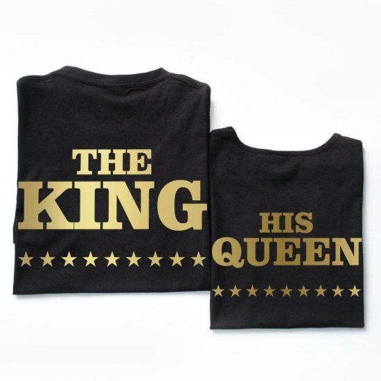 Set Tricouri King and his Queen