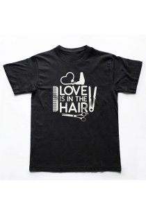 Tricou Barbati Love is in the Hair