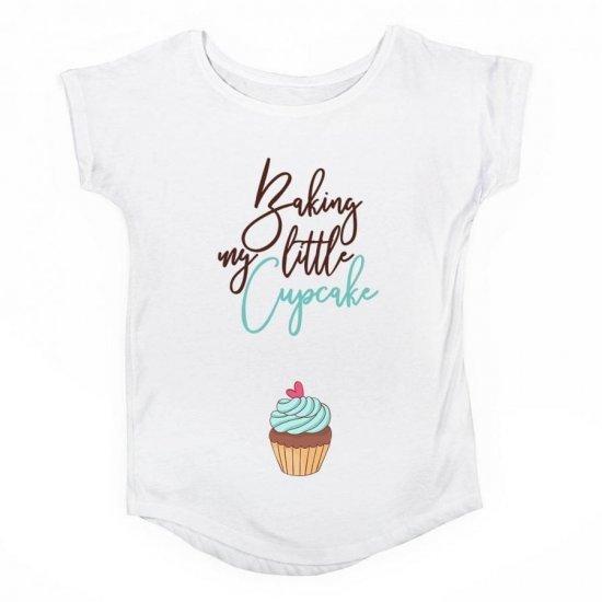 Tricou Gravide Cupcake Boy