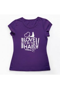 Tricou Meserii Hairstylist Love Your Hair