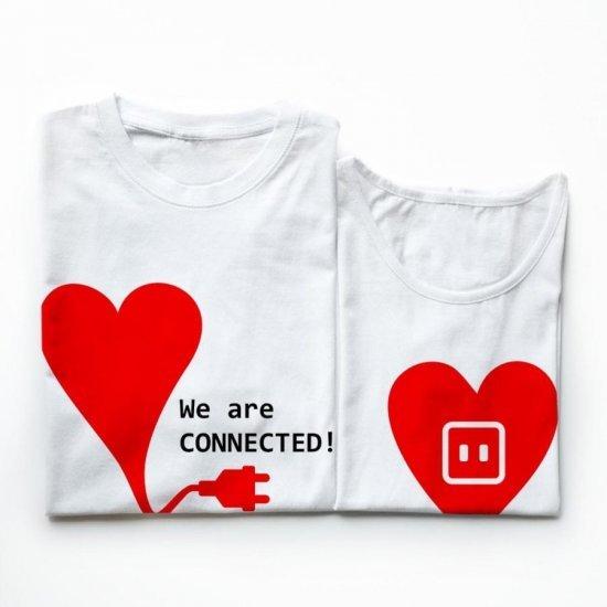 Tricouri Cuplu Iubire Electrica