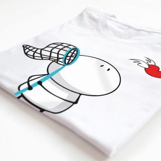 Tricouri Personalizate Cuplu Catch Love