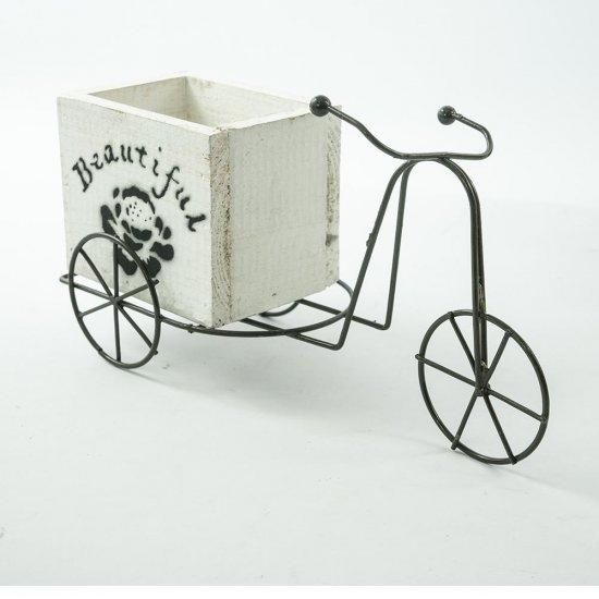 Bicicleta pentru aranjamente florale Beautiful Alba