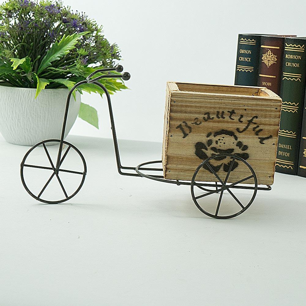 Bicicleta pentru aranjamente florale Beautiful Wood