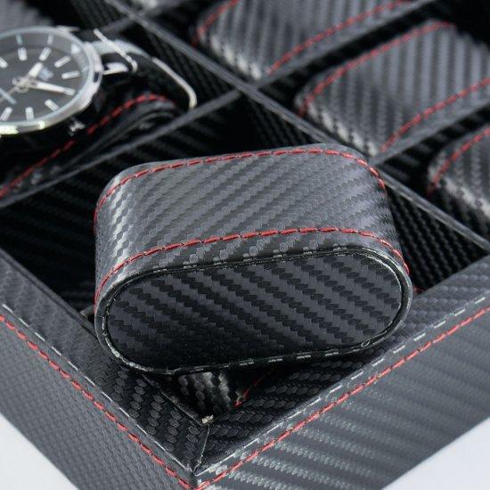 Cutie ceasuri cu 12 spatii - Carbo