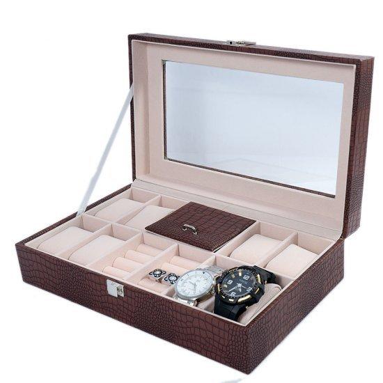Cutii ceasuri 8 spatii si bijuterii Francesca