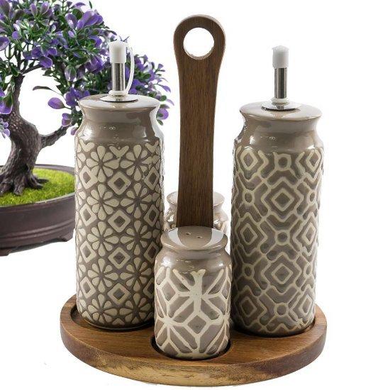 Set oliviera ceramica Otto