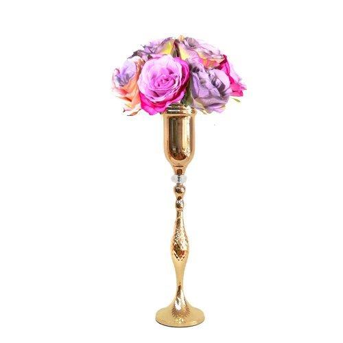 Sfesnic auriu - suport aranjamente florale Babel