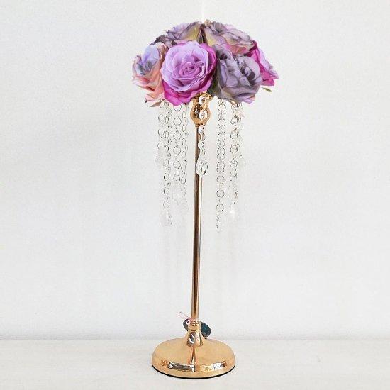 Suport auriu pentru flori - Malena