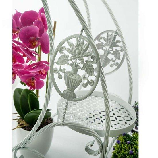 Suport pentru ghivecele de flori Bianca