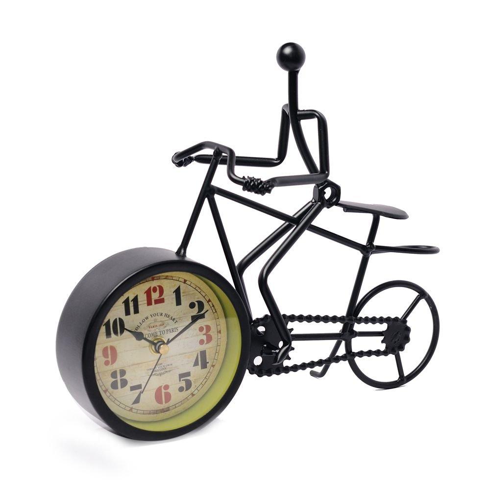 Ceas pentru birou om pe bicicleta