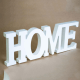 Litere 3D, Home, din lemn