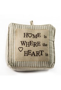 "Opritor usa din material textil "" Home"""