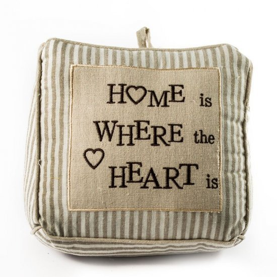 """Opritor usa din material textil """" Home"""""""