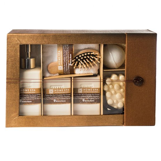 Set aromaterapie cu 8 piese de baie