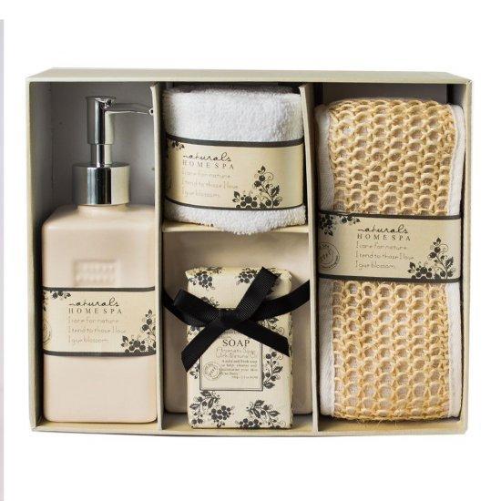 Set cadou de baie cu 5 accesorii in cutie