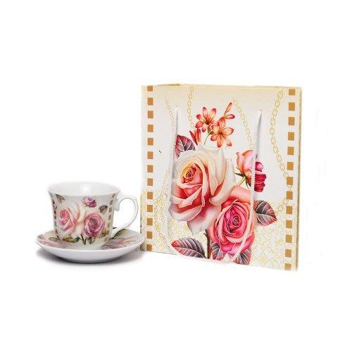 Set Doua Cani Cu Design Trandafiri