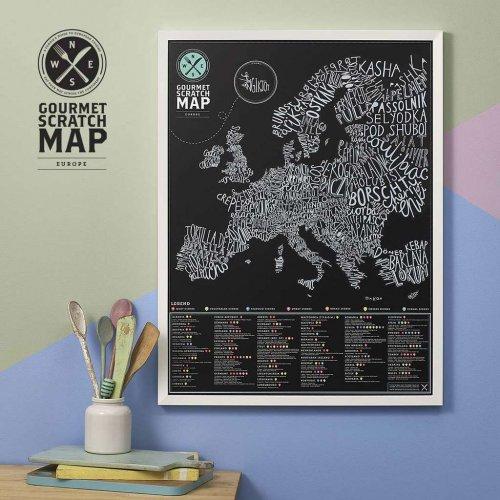 Harta razuibila Gourmet