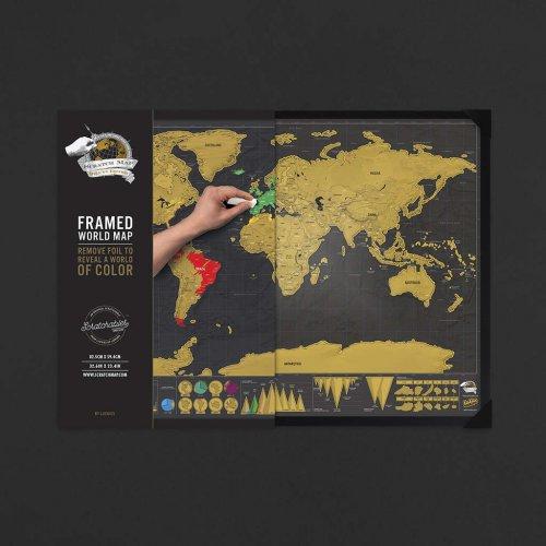 Harta razuibila Deluxe cu rama completa