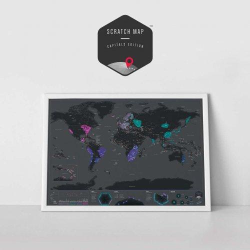 Harta razuibila – capitale (editie speciala)