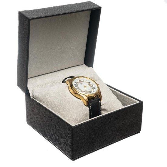 Cutie pentru depozitarea unui ceas din piele ecologica