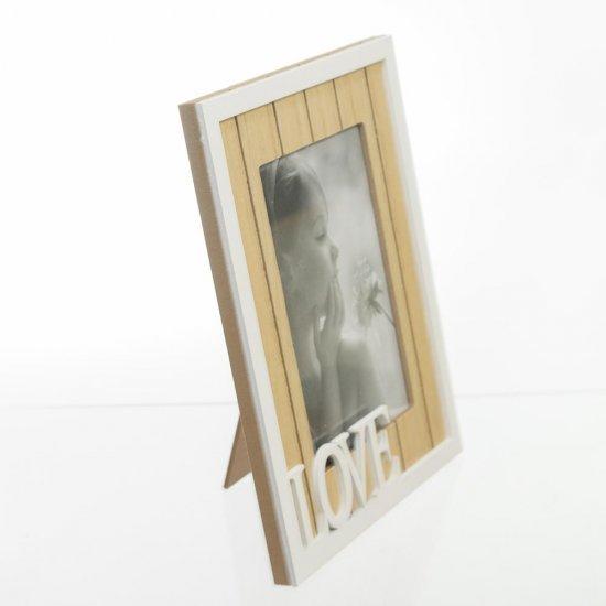 Rama foto din lemn model LOVE
