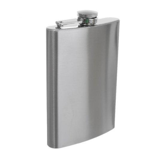 Sticla inox pentru bauturi ( Hip Flask ) - Plosca metalica