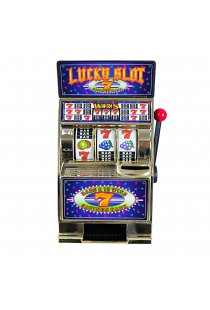 Aparat Mini Slot Machine - Pusculita model argintiu