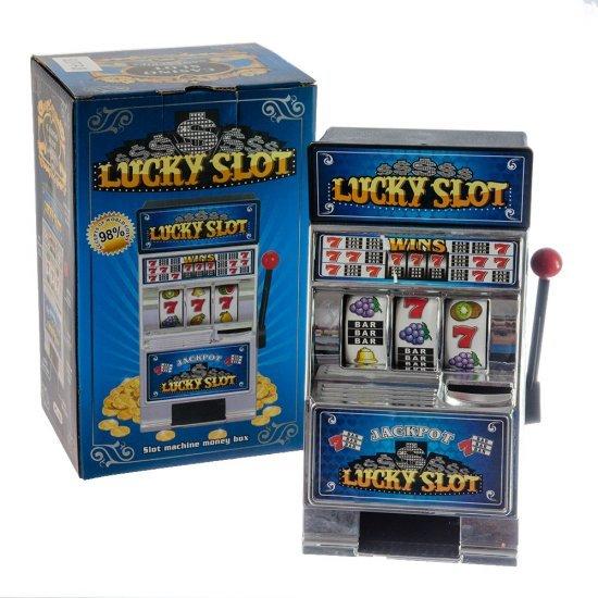 Aparat Mini Slot Machine - Pusculita model argintiu