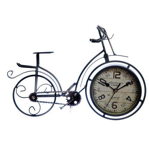 Bicicleta decorativa cu ceas incorporat