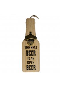 "Desfacator sticla de bere ""The best beer is an open beer"""
