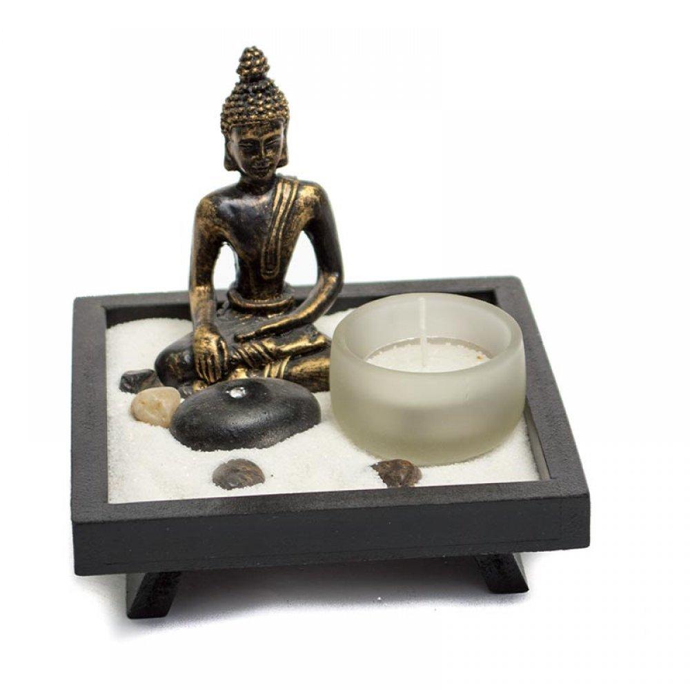 Gradina zen cu buddha decoratiune speciala pentru casa for Jardin zen miniature casa