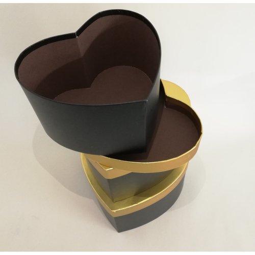 Cutie Inima Neagra Pentru Aranjamente Florale