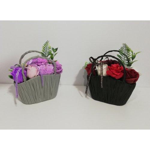 Aranjamete Florale Cosulete Cu Flori De Sapun