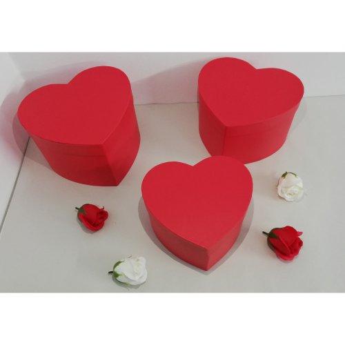 Cutii din Carton Inima Pentru Flori