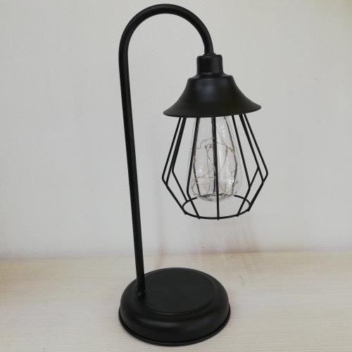 Lampa decorativa din metal cu mini leduri