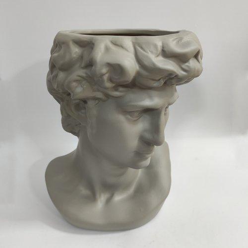 Vaza bust statuie ceramica David