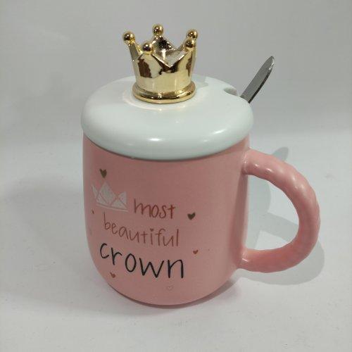 Cana ceramica cu coroana, patru modele