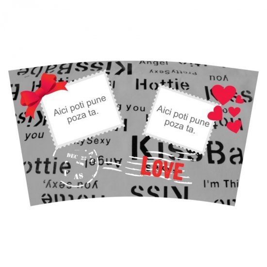 Cana termos Love Stamps