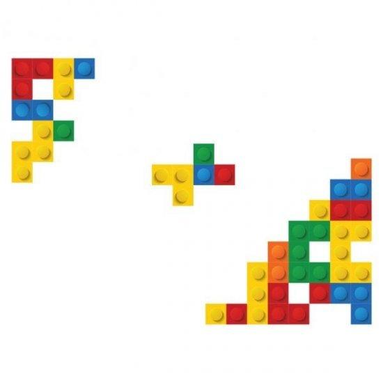 Sticker Perete Lego Blocks