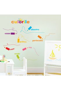 Sticker decorativ copii Creioanele Magice