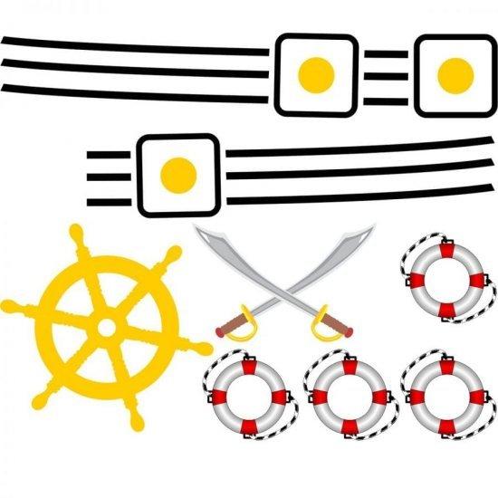 Stickere Copii Tema Corabia Piratilor