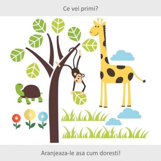 Stickere Copii Tematica Animalute si Copacel