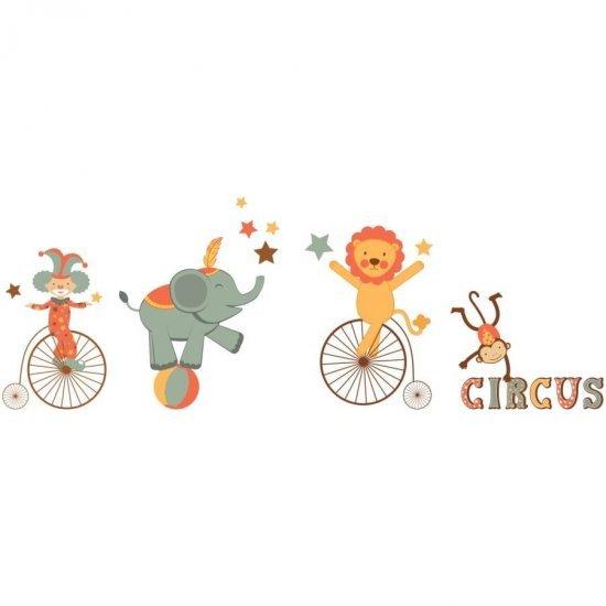 Stickere Perete Camera Copilului Animale la Circ