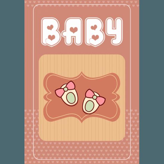 Tablou Canvas Baby Girl