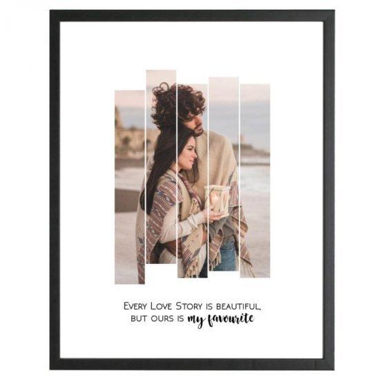 Tablou Rama Neagra Our Love Story