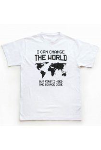 Tricou Programatori Change the World